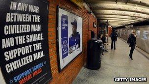 Anti-Islam posters