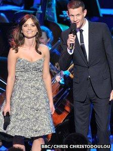 Matt Smith and Jenna Coleman