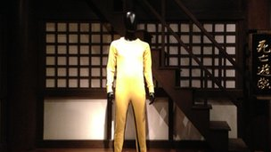 Bruce Lee wore this suit in the film Game of Death