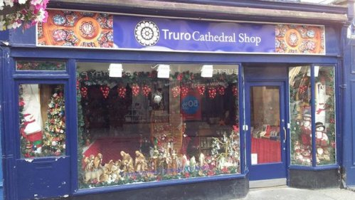 Truro Cathedral Shop, July 2013