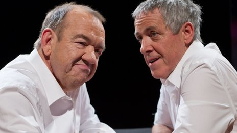 Mel Smith and Smith Griff Rhys Jones