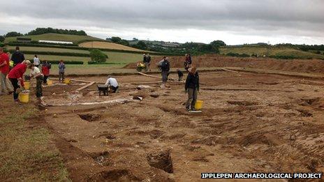 Ipplepen excavation