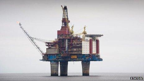 Image result for shetland oil field
