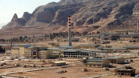 An aerial photo shows Iran's Uranium Conversion Facility, just outside the city of Isfahan, 410 kilometres south of the capital Tehran, Iran (30 March 2005)
