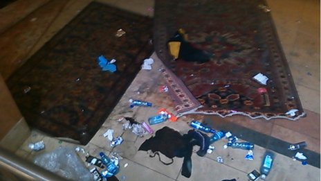 Contents of a shop inside the mall, taken by one of the Westgate's shopkeepers