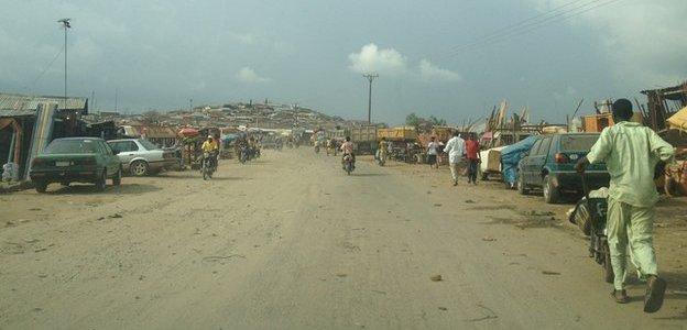 Abuja street scene
