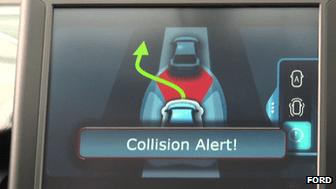Collision alert monitor