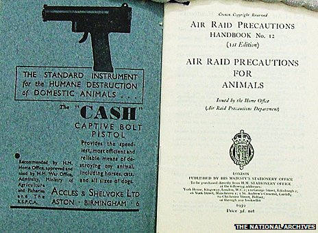 Air Raid Precautions handbook