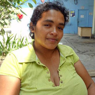 Maria Teresa Rivera in Ilopango jail