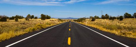 A road