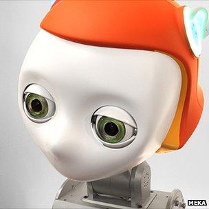 Meka S2 robot head