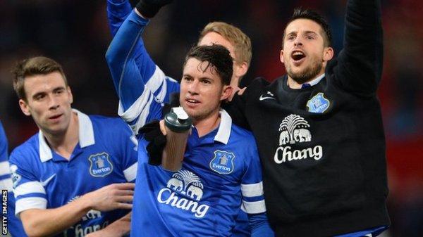 BBC Sport - Manchester United 0-1 Everton