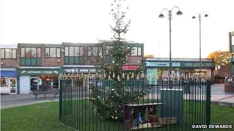 Cotgrave Christmas tree