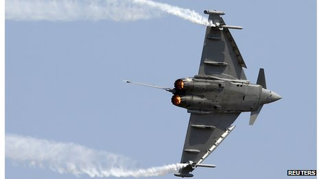 EADS is the biggest shareholder in the Eurofighter