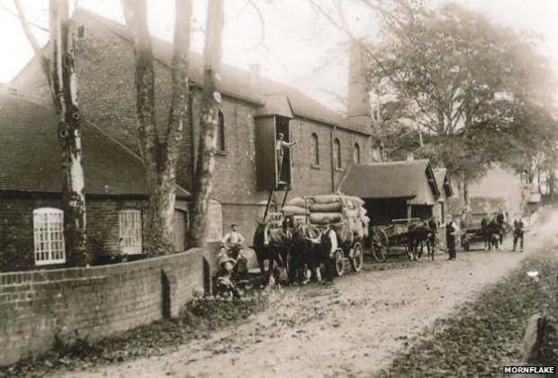 Brereton Mill in Cheshire was also owned by Mornflake (image circa 1885)