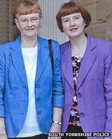 Jean and Sarah Redfern