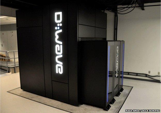 D-Wave Two quantum computer at Nasa Ames