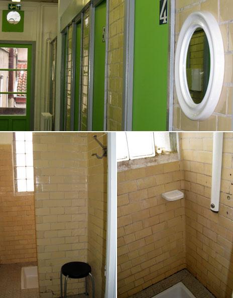 The public showers, Toulouse