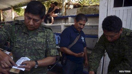 Vigilantes in Michoacan