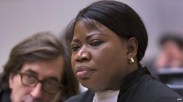 The ICC's chief prosecutor Fatou Bensouda