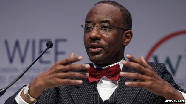 Lamido Sanusi, Nigeria's Central Bank governor, in October 2013