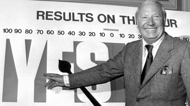Edward Heath campaigned for Britain to enter and then stay in the EEC