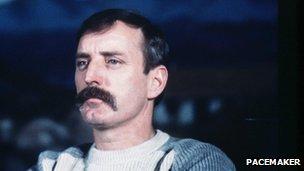 Una foto di Ivor Campana presa nel 1983