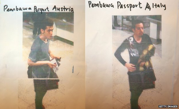 Pouria Nour Mohammad Mehrdad and an unindentified suspect were travelling on Flight MH370 with a stolen passports