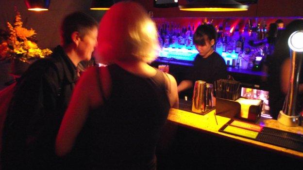 Inside She bar