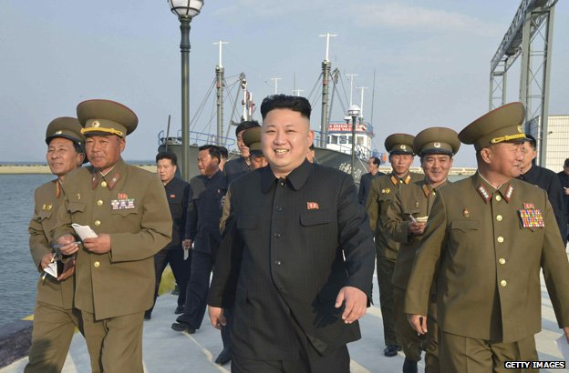 Kim Jong-un visits fishery