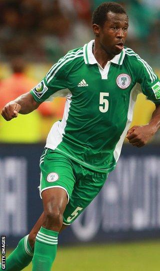 Nigeria defender Efe Ambrose