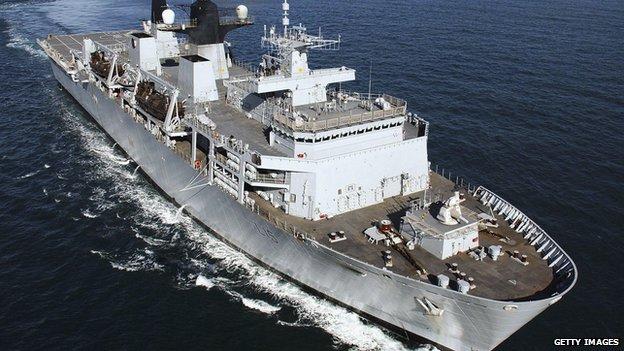 HMS Bulwark (library photograph)