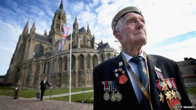 D-Day veteran Victor Walker