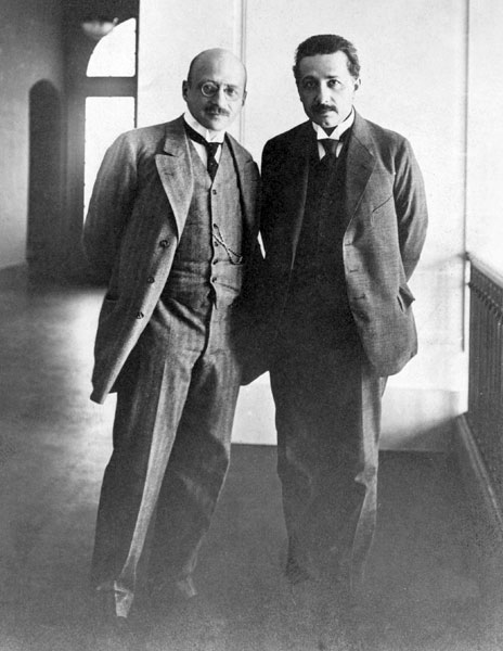 Fritz Haber and Albert Einstein