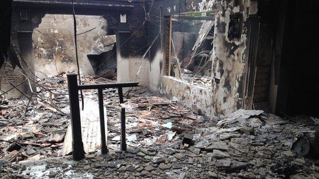 Aluthgama destruction