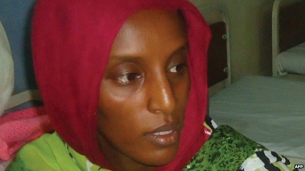 Meriam Yahia Ibrahim Ishag, a 27-year-old Sudanese woman sentenced to hang for apostasy