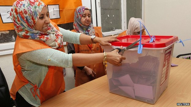 urne Libia