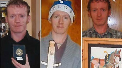 Three new images of James Attfield, released by police