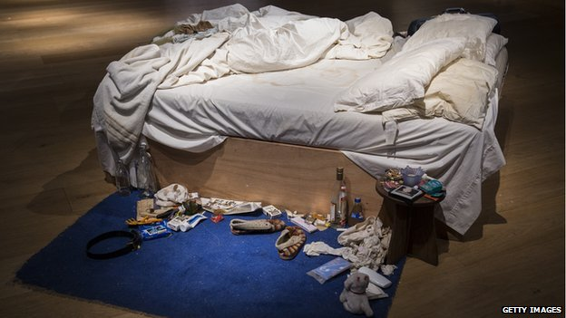 Tracey Emin's Bed Sold for 2.5 million GBP