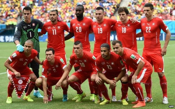 Switzerland's unlikely World Cup heroes - BBC News