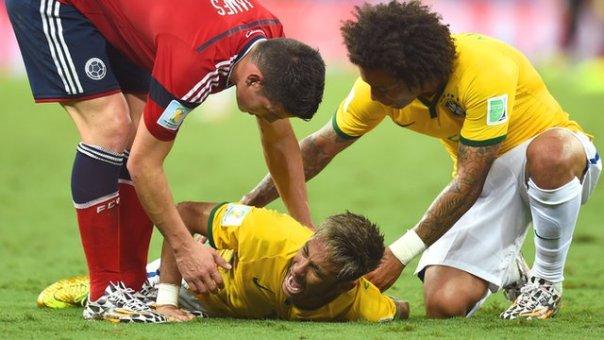 Neymar's tournament-ending injury