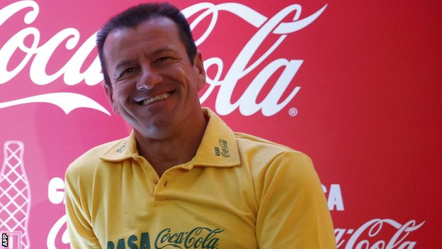Dunga of Brazil