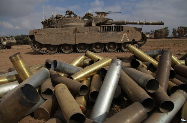 Gaza City and Israel's Eshkol hit by deadly bomb blasts