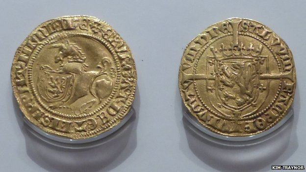 The Unicorn coins