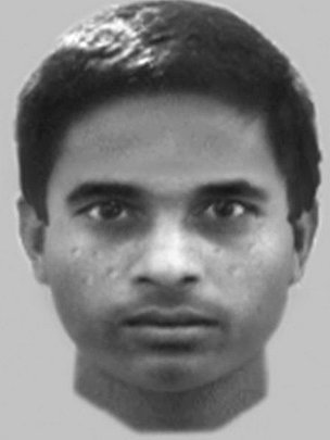 E-fit of attempted rape suspect