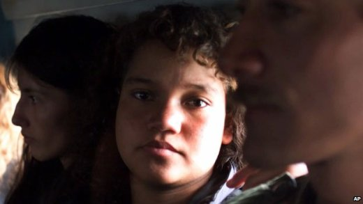 14-year-old Farc rebel in 2000