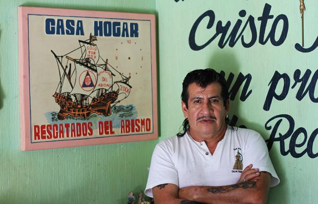 Pablo Marroquin at his rehab centre