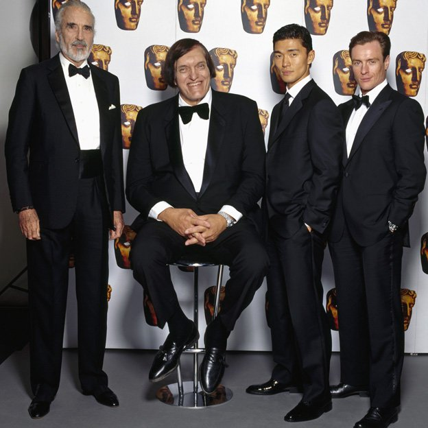 (l-r) Christopher Lee, Kiel, Rick Yune and Toby Stephens