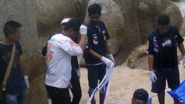 British tourists murdered in Thai Beach | ozara gossip