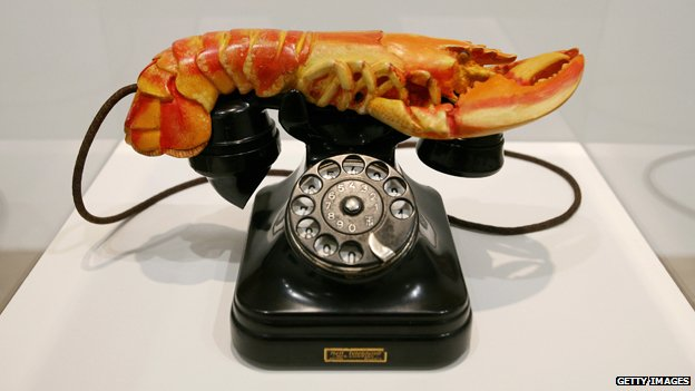 Salvador Dali's Lobster Telephone